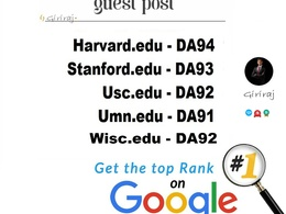 5 .EDU Guest Posts Published on USA Universities - DA 90+