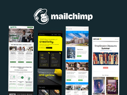 Design editable custom  mailchimp Email Template and Newsletter