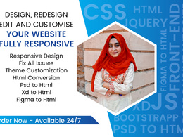 Convert psd to html, sketch to html, xd to html