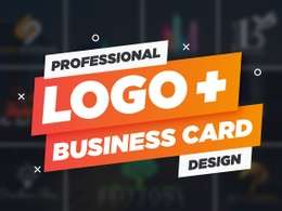 Exclusive Logo Unlimited Revisions & Concept + Business Card