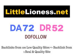 Guest Post on LittleLioness.net - DA72 - Dofollow