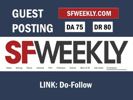 Publish a Guest Post on News Site SFweekly - SFweekly.com DR 80