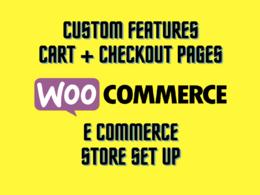 Woocommerce's header