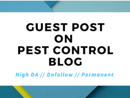 I will post your article to my pest control website