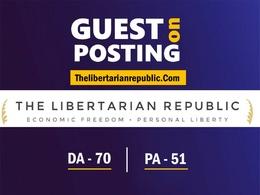 Guest Post on News Blog - Thelibertarianrepublic com DA 70