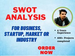 Provide Deep SWOT Analysis