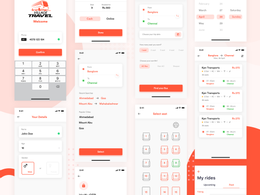 Design mobile app screen design