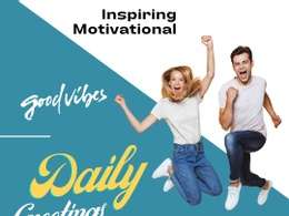 DESIGN HD Morning Evening Greetings Posters for Social Media
