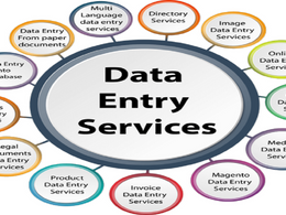 Data entry work for within 1 hour