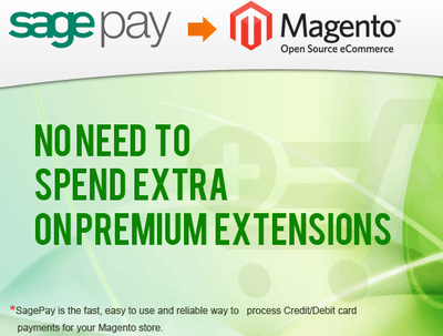 Integrate Sage Pay payment gateway to your Magento store