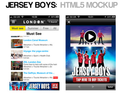 Design and code mobile adverts in html5 and flash