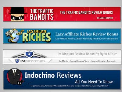Design an awesome header, banner or logo for blog or website