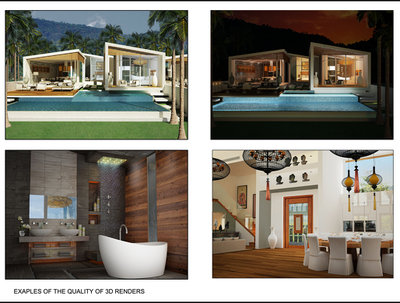 Provide Computer Generated Images (CGI) of your residential or commercial property