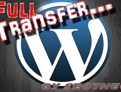 Migrate/Transfer a Wordpress site to a new host