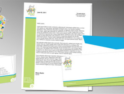 Design you a branded stationery kit ready for printing