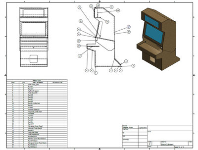 Make you a inventor (Cad based) design of your product as well as dimension sheets