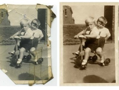 Restore your treasured photograph