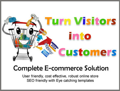 Develop secured, SEO ready ecommerce website / online shop with responsive design