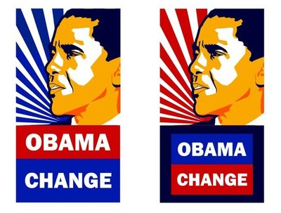 "Design and illustrate a cool ""Obama"" style poster"