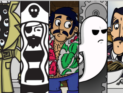 Design a cartoon character