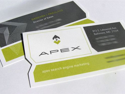 Design professional visiting card