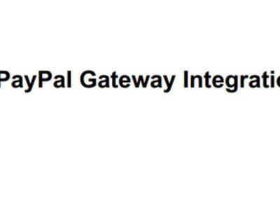 Make Paypal Payment Gateway