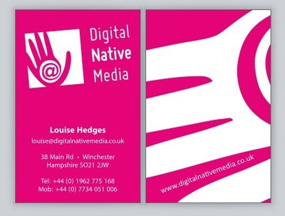 Design your business card and letterhead