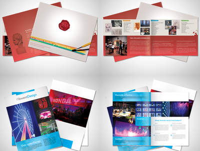 Design professional flyer and postcard