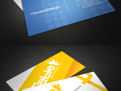 Design fancy business card