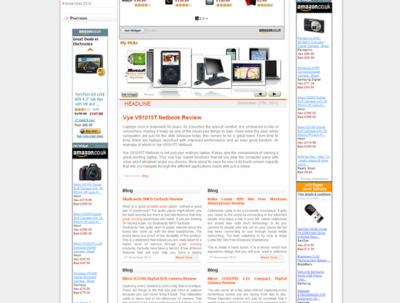 Build an Amazon Associate Shopping Website