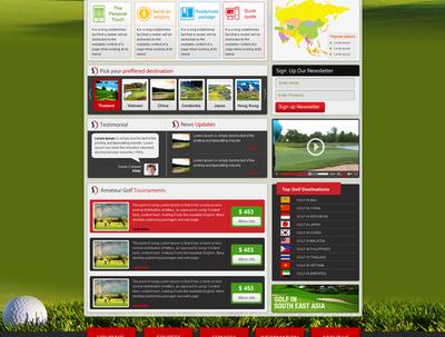 Do creative homepage design