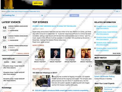 Design and develop informative website