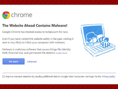 Remove malware / virus / google block warning from website