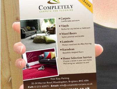 Design your leaflet/flyer