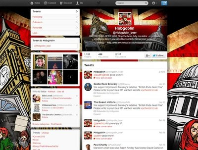 Design a pro Twitter profile: header/pic