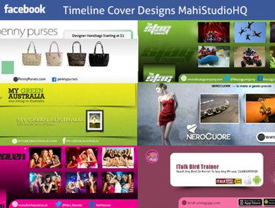 Design a killer unique facebook timeline cover