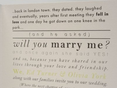 Design your bespoke wedding stationery