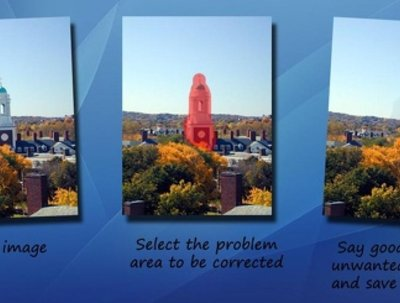 Magically remove elements from your photos