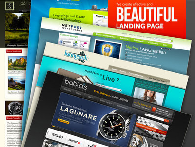 Create beautiful and effective landing page