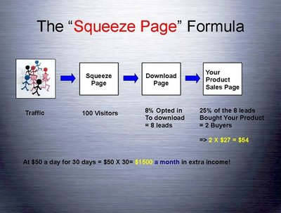 Build a squeeze page site
