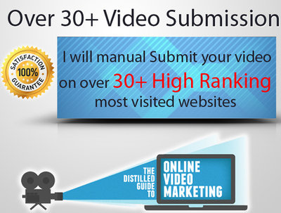 Promote your video on over 30+ high rankings most powerful websites