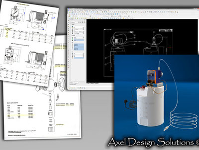 Translate your sketches,prototypes or concepts into Solidworks 3D/2D CAD formats.