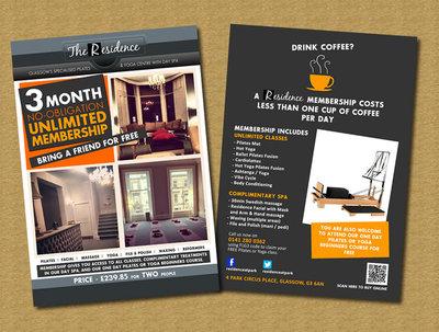 Design your brochure / flyer