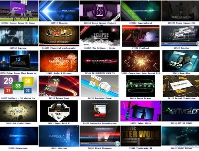Make videohive intro and outro videos