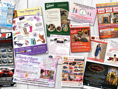 Design your print-ready advertising fast