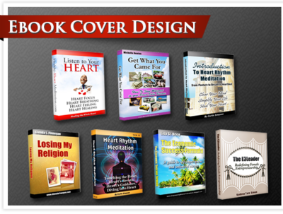 Design a professional looking ebook cover