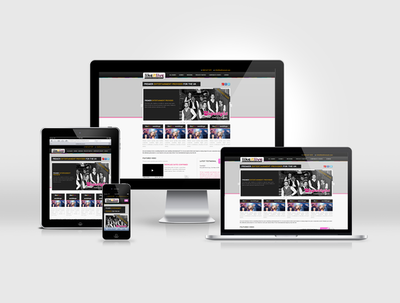 Make your website responsive (adapt to tablets and smartphones)