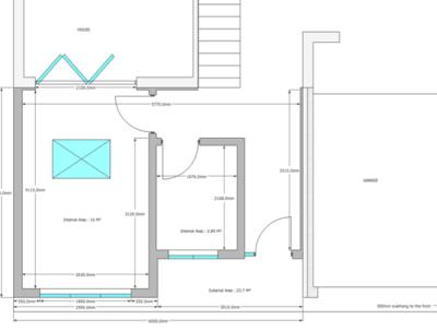 Create a floorplan and 3d from a survey