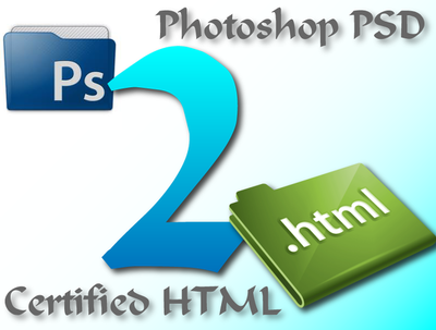Convert your PSD file to HTML & CSS