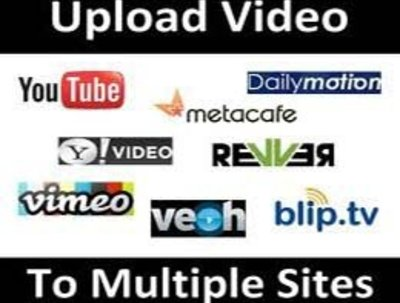 Share or upload  your  video in 30 high pr video sharing sites